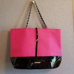 Juicy Couture Tote Pink & Black